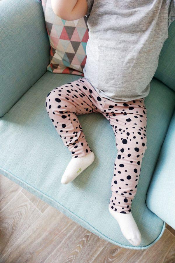 Leggings - Oldrose Dots