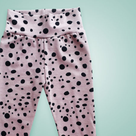 Leggings - Oldrose Dots