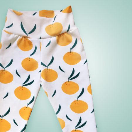Leggings - Orangen