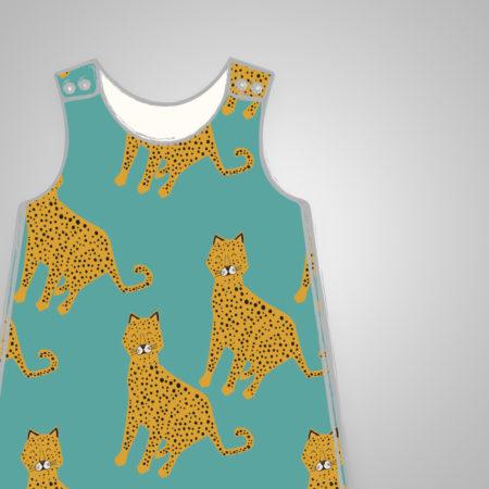 Harem Romper - Leopards