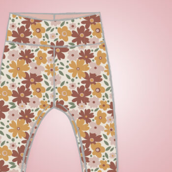 Leggings - Autumn Flowers