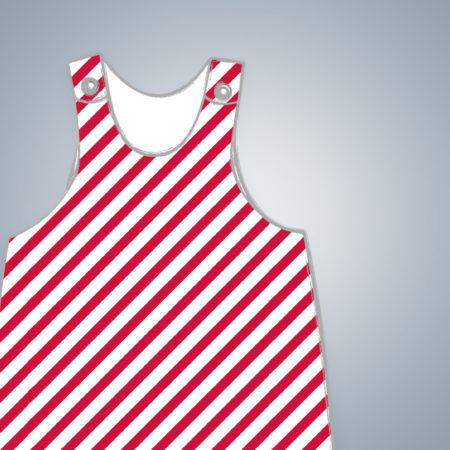 Latzkleid - Diagonal Stripes