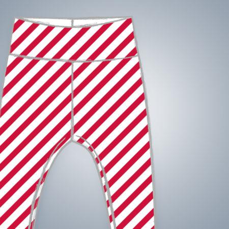 Leggings - Diagonal Stripes