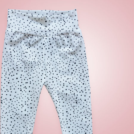 Leggings - Dotties ecru