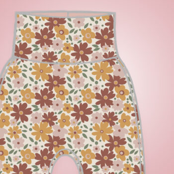 Harem Pants - Autumn Flowers