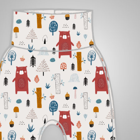 Harem Pants - Forest Bear