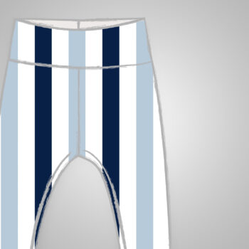 Leggings - Blue Stripes