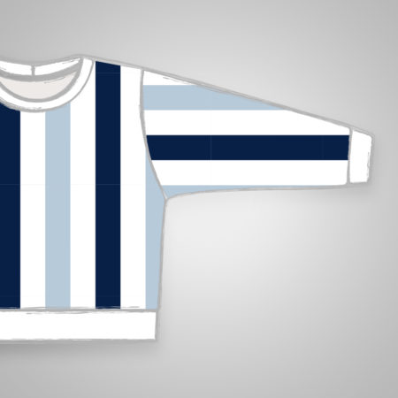 Pullover - Blue Stripes