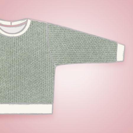 Pullover - Feinstrick mint