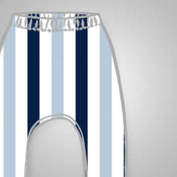 Slim Harems - Blue Stripes