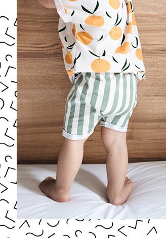Tragebild - Harem Shorts